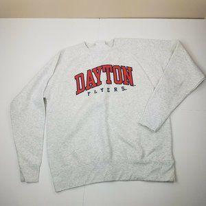 Dayton Flyers Champion Crewneck Sweatshirt Large